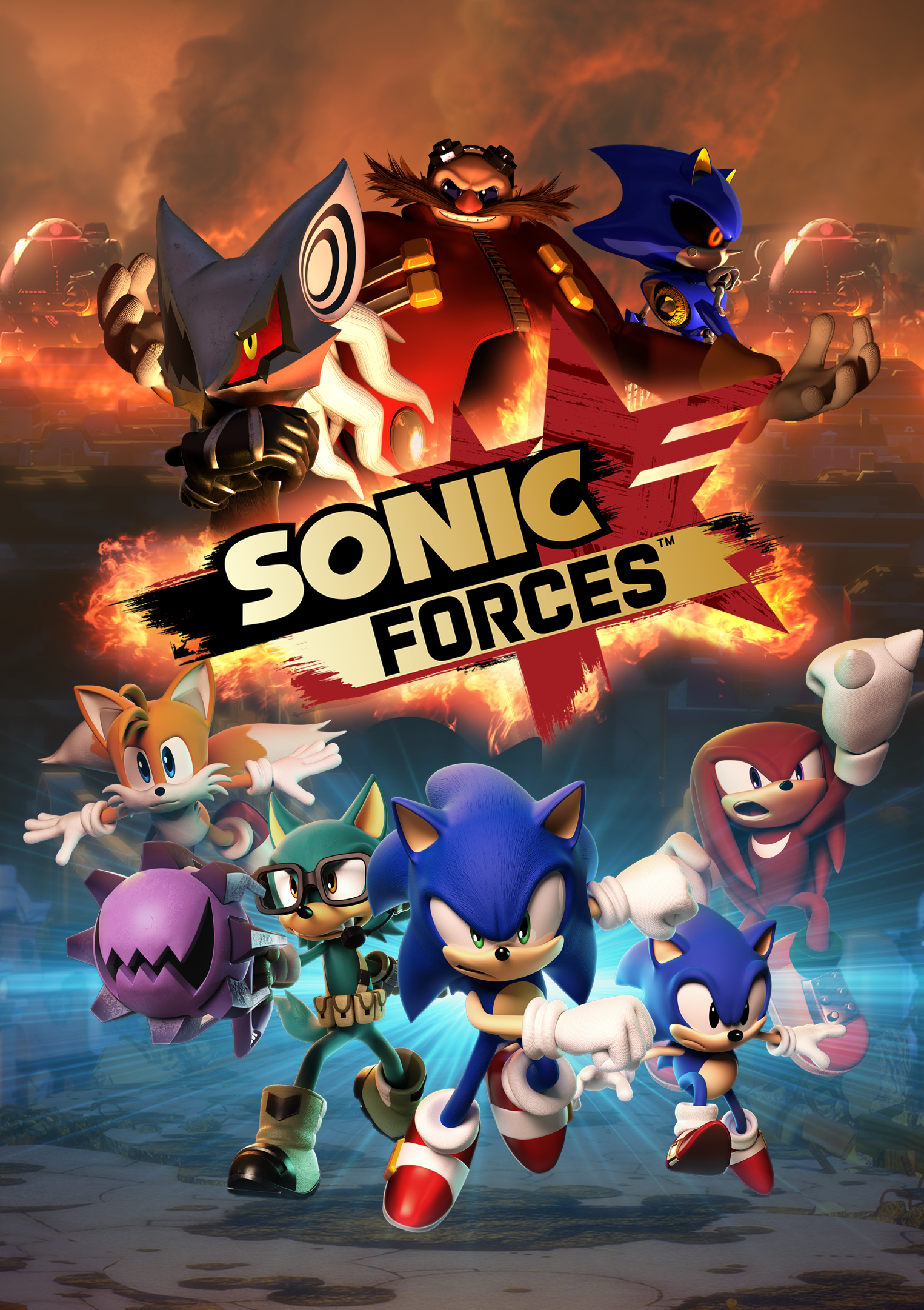 Sonic Forces Download PC Game Full Version Free   Gaming Beasts